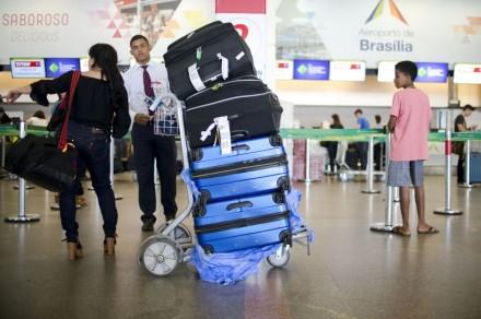Cobrança do despacho de malas agora liberalizada pela ANAC