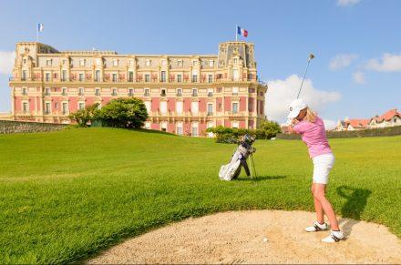 Golf no Hotel du Palais em Biarritz