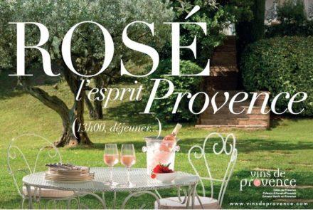 O Rosé , seduzindo por ser o espirito da Provence