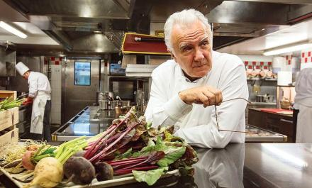 O Chef Alain Ducasse, Presidente da Châteaux Hotels collection