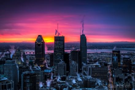 Montreal no inverno