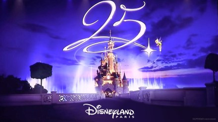 Disneylandia Paris comemorando seus 25 anos com muitas novidades