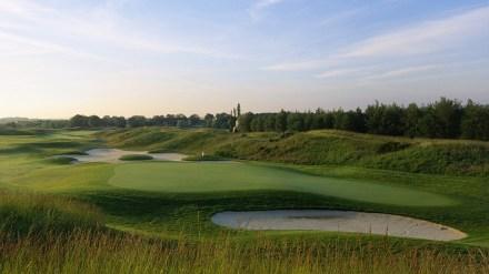 O campo de golfe de Saint Quentin, pronto para Ryder Cup 2018