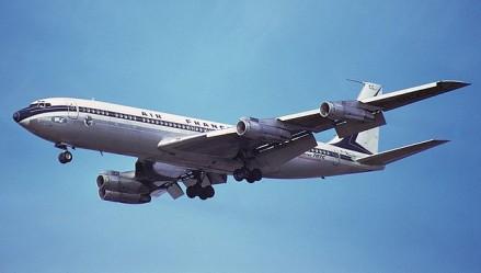 O Being 707 A, obsoleto logo no meio dos anos 70