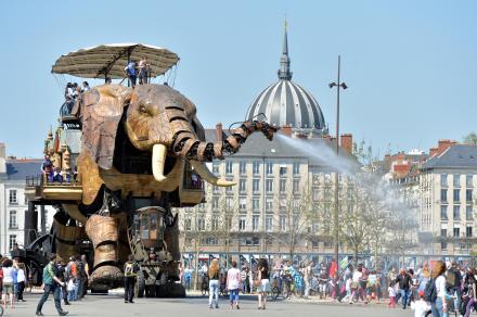 O Grande Elefante da Ilha © Jean-Dominique Billaud / LVAN