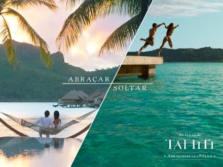 A Campanha da Tahiti turismo
